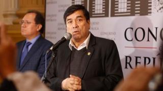 Congresista Benicio Ríos fue capturado y ahora será trasladado a un penal de Cusco
