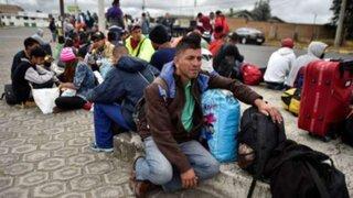 Terminales terrestres abarrotados: venezolanos siguen llegando a Lima