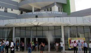 Tumbes: paciente murió en ambulancia porque puertas se trabaron