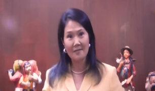 Keiko Fujimori critica reformas planteadas por Vizcarra