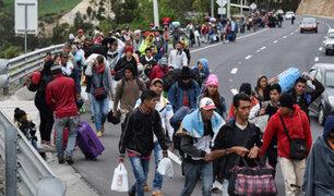 CEBAF: cientos de venezolanos sin pasaporte ingresan al Perú