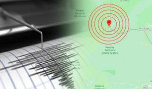 Sismo de 7 grados de magnitud en Ucayali no provocó daños personales ni materiales