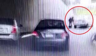 Nuevo vídeo revela cómo interceptaron a cambista para robarle 100 mil dólares