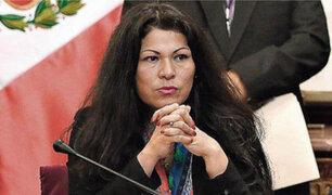 Yesenia Ponce: Ética aprobó informe que recomienda suspenderla por 60 días