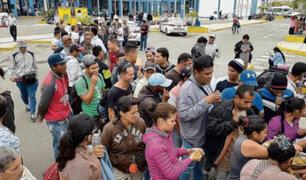Drama en la frontera: cientos de venezolanos se encuentran varados