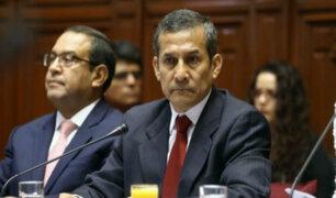 Congreso: Ollanta Humala se presenta ante Comisión Madre Mía