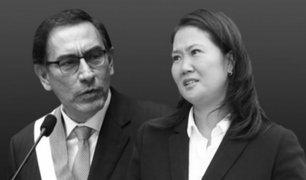 Keiko Fujimori da detalles de reuniones con presidente Vizcarra