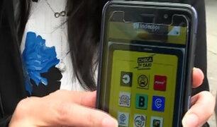 Indecopi: presentan guía de seguridad para usuarios de taxi por aplicativo