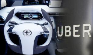 Toyota invertirá 500 millones de dólares para desarrollar vehículos autónomos con Uber