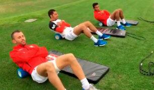 Selección Peruana: así fue su primer entrenamiento pensando en los amistosos