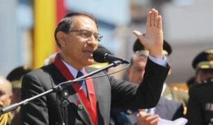 Tacna: presidente Martín Vizcarra asegura que continuará con las reformas