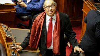 José Luis Lecaros: Congreso debe levantar de inmediato inmunidad a Edwin Donayre