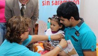 Preocupación por rebrote de sarampión en el Perú por falta de vacunación