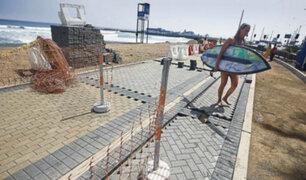 Capitanía de puerto paraliza obras en playa Redondo