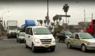 Callao: se registran constantes accidentes de tránsito en avenida Gambetta