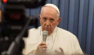 """Papa Francisco sobre Venezuela: """"deseo una solución justa y pacífica"""""""
