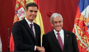 Chile: presidentes Piñera y Sánchez piden una solución a crisis de Venezuela