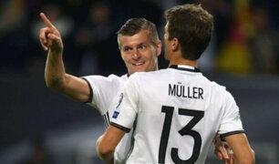 Perú vs Alemania: Kroos y Müller entre los convocados del 'Mannschaft'
