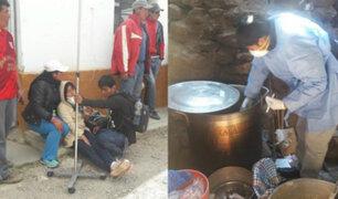 Ayacucho: confirman presencia de plaguicidas en intoxicación masiva