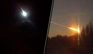 Captan una enorme bola de fuego cayendo del cielo en Australia