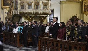 Presidente Vizcarra asiste a misa en homenaje a Santa Rosa de Lima