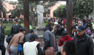 Primó orden durante visita al santuario de Santa Rosa