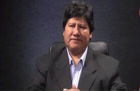 Edwin Oviedo negó haber pagado a suspendido juez César Hinostroza