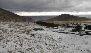 Senamhi: sierra sur del país registrará bajas temperaturas los primeros días de septiembre