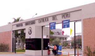 Universidad Católica confirma investigación a profesor acusado por acoso sexual