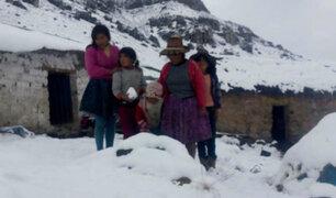 Senamhi: temperatura descenderá hasta los -18 grados en la sierra sur del país