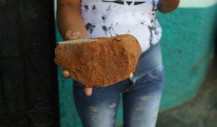 Trujillo: sujetos que realizaban fiesta arrojan un ladrillo a un policía