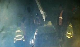 Conductor en aparente estado de ebriedad ocasiona accidente en Carmen de La Legua