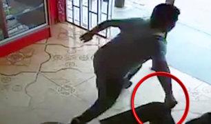 Chiclayo: ladrón arrebata celular y su víctima se queda atónita