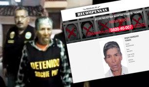 Ayacucho: Dircote captura a terrorista que asesinó a 11 efectivos policiales
