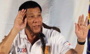 """Presidente de Filipinas: """"Aumento de violaciones sexuales es porque hay muchas mujeres bonitas"""""""