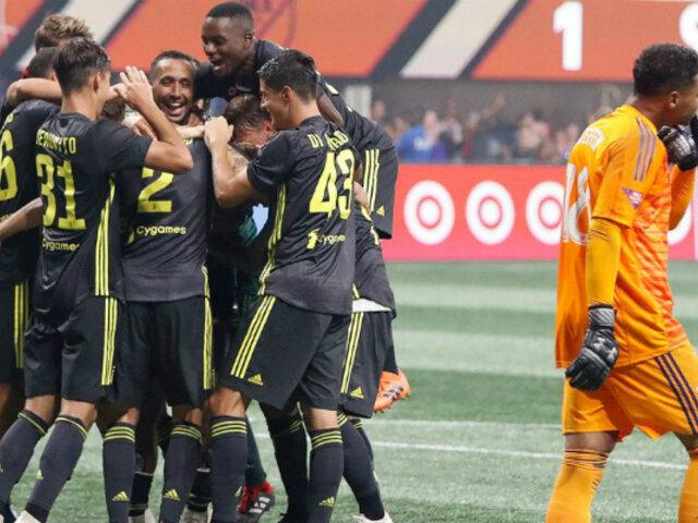 Yotún se lució con gol de penal en el MLS All Stars vs. Juventus
