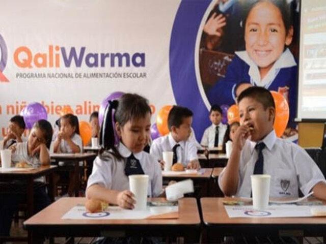 Especialistas en alimentación escolar asesorarán reestructuración de Qali Warma