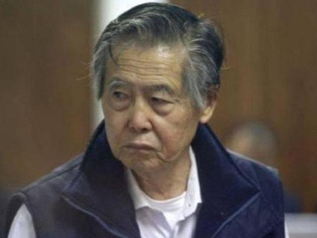 Poder Judicial admite revisar indulto a Alberto Fujimori