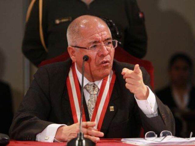 Poder Judicial: juez supremo César San Martín pasará por Comité de Ética