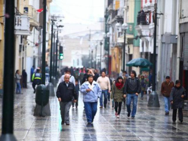 Senamhi: llovizna y nubosidad permanecerá en Lima hasta el 20 de junio