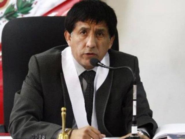 Richard Concepción Carhuancho seguirá siendo juez en caso Humala-Heredia