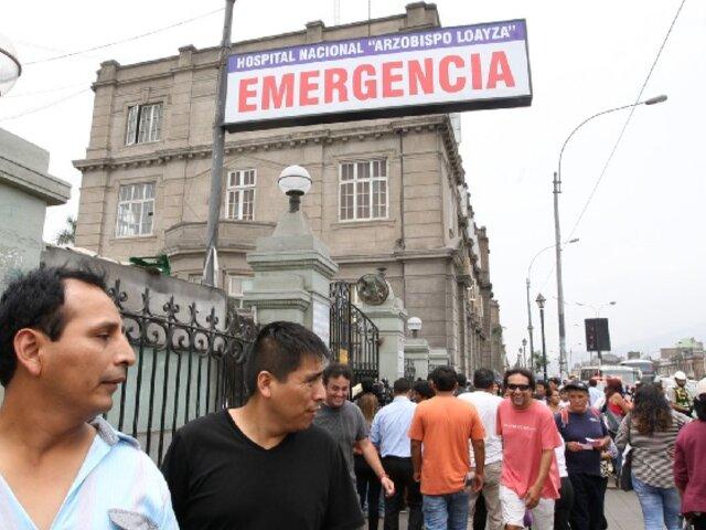 Más de S/2 millones de multa a hospitales o clínicas que no atiendan emergencias