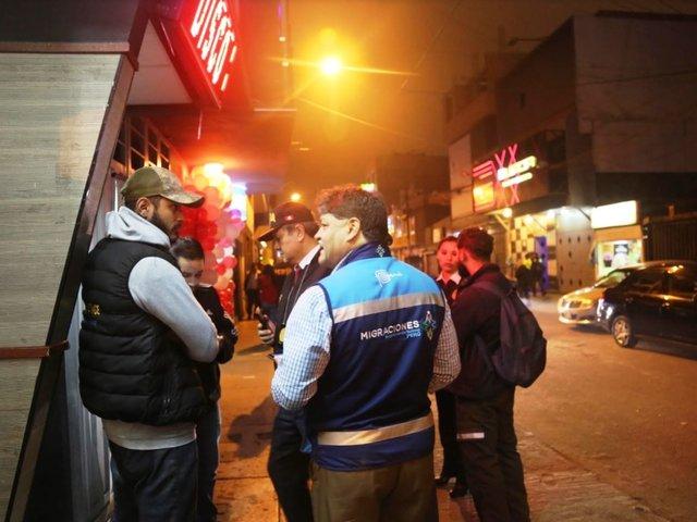Lince-Miraflores: Migraciones continúa megaoperativo para ver situación de extranjeros