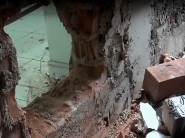 Puente Piedra: ladrones roban más de 150 mil soles de negocios tras hacer forados