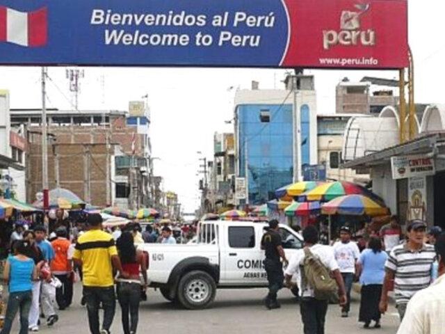 Tumbes: realizan operativos en zona fronteriza para detectar a quienes ingresen de manera ilegal