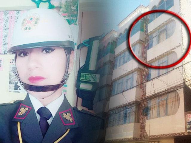 Juliaca: mujer policía cae por la ventana de un cuarto piso de inmueble