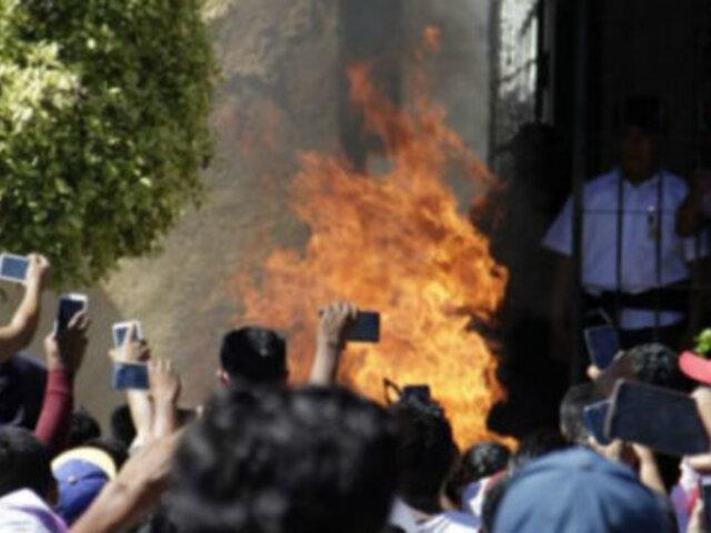 México: pobladores linchan y queman vivos a presuntos secuestradores de niños