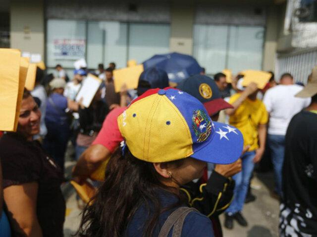 Proponen que venezolanos sean reubicados al interior del país