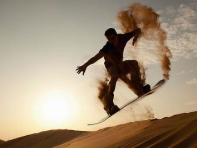 Turista belga queda herida tras practicar sandboard en Ica