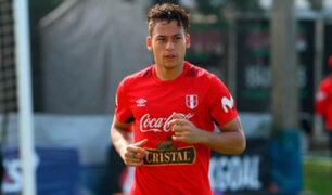 Cristian Benavente llegó a Lima para amistosos con la selección